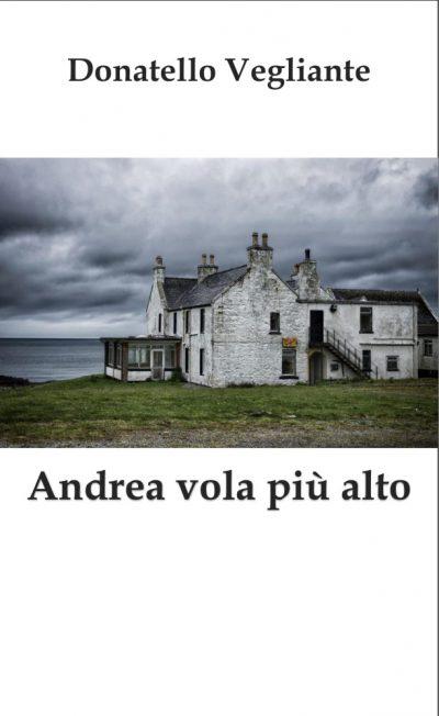 Donatello Vegliante copertina Andrea vola piu alto