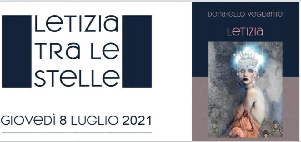 """""""Letizia tra le Stelle"""" – evento presso l'Agriturismo La Vigna a Cadenazzo 8 luglio 2021"""